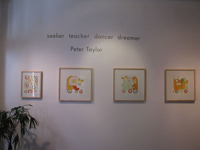 seeker teacher dancer dreamer, Peter Taylor